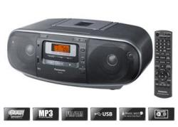 Panasonic RXD55 Portable Stereo CD System Boombox for 110-240 volts