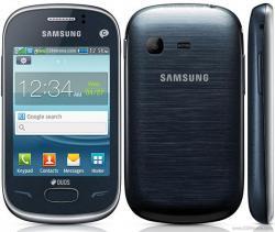 SAMSUNG S3802 REX 70 DUAL SIM QUADBAND UNLOCKED GSM PHONE White