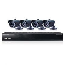 SAMSUNG SDSV4040N 8ch Security Camera System 110 - 240 VOLTS