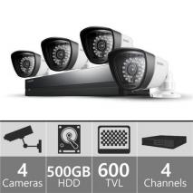 SAMSUNG SDSP3040N 4ch Security Camera System 110 - 240 VOLTS