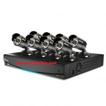 Swann SWDVK-814508F  8 Channel 8 Cameras SECURITY CAMERA SYSTEM 110 - 240 VOLTS
