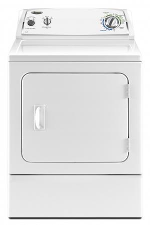Whirlpool 3LWED4800YQ 7 Cu.Ft Super Capacity Electric Dryer 220 ...