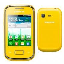 SAMSUNG S5300 GALAXY POCKET ANDROID GSM UNLOCKED QUADBAND PHONE: YELLOW