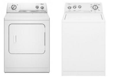 WHIRLPOOL WTW5205SQ & WHIRLPOOL WED5205SQ WASHER & ELECTRIC DRYER SET 220-240VOLT 50HZ