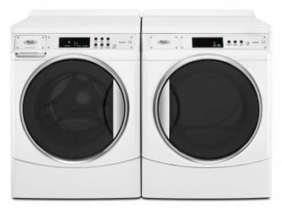 WHIRLPOOL LCHW9100WQ SEMI-PRO WASHER & WHIRLPOOL LCED9100WQ SEMI-PRO ELECTRIC DRYER FOR 220-240 VOLTS/ 50 HERTZ