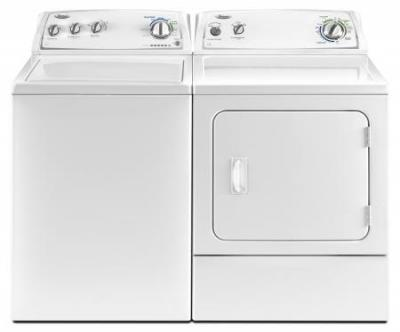 WHIRLPOOL WTW4800YQ NEW EFFICIENT WASHER & WHIRLPOOL WGD4800YQ GAS DRYER SET 220-240 VOLTS/ 50 HERTZ