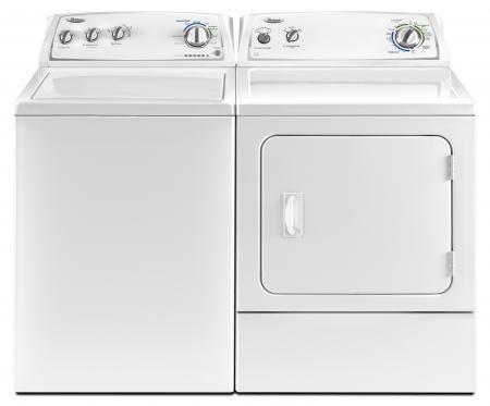 whirlpool wtw4800yq top loading washer u0026 whirlpool wed4800yq electric dryer set volts