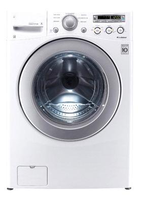 LG WM3070HWA 3.7cu. ft. Front Load Washer Turbowash Steam White FACTORY REFURBISHED (FOR USA)