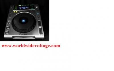 Pioneer CDJ850 black Performance Multi Player DJ Digital Turntable 110 - 220 volts