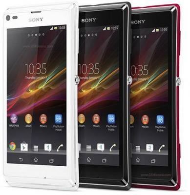 Sony Xperia L-C2105 3G Android Quadband Unlocked GSM Phone: PINK