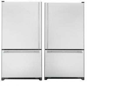 Whirlpool WGB2026REKS / WGB2026LEKS 20 cu.ft. Stainless Steel Bottom Mount Refrigerators 220-240 Volts, 50/60HZ
