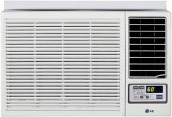 LG LW2412HR 23,500 BTU Window Air Conditioner with Heating Option and Remote FACTORY REFURBISHED FOR USA