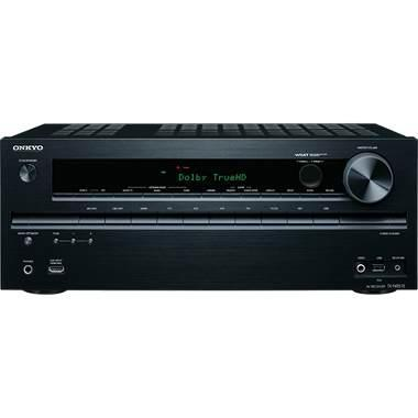 Onkyo TXNR515 3D Ready A/V Receiver - 7.2 Channel - Multizone - Dolby Digital, Dolby TrueHD, Dolby Digital Plus, Dolby Pro Logic IIz, DTS, DTS-HD Master Audio, Audyssey Dynamic Volume, Au (OPEN BOX)