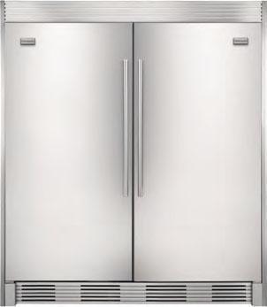 Frigidaire Mufd19v9qs Mrad19v9qs By Electrolux Prestige Pair Refrigerator Freezer 220 240 Volt 50