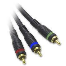 ZUUM MEDIA C5FT 5' COMPONENT VIDEO CABLE