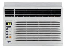 LG LW6012ER 6,000 BTU Window Air Conditioner with Remote  FACTORY REFURBISHED FOR USA