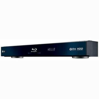 LG BD590 Built-in Wi-Fi Network Blu-ray Disc Player with 250GB HDD Media Library  FACTORY  REFURBISHED (ONLY FOR USA )