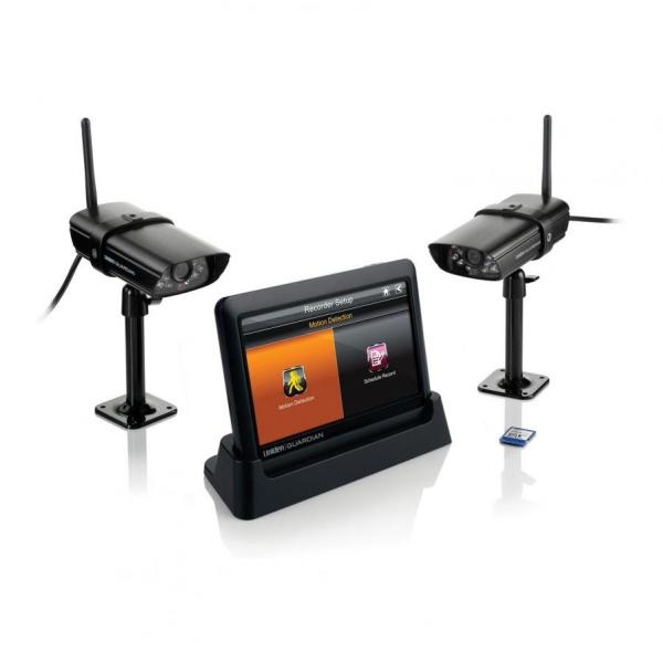 Guardian Advanced Wireless Security System with 2 Surveillance Cameras