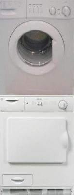 GE W12EFEW / V60EGEW White Washer DRYER SET With STACKing Kit 220-240 VOLTS/ 50 HERTZ