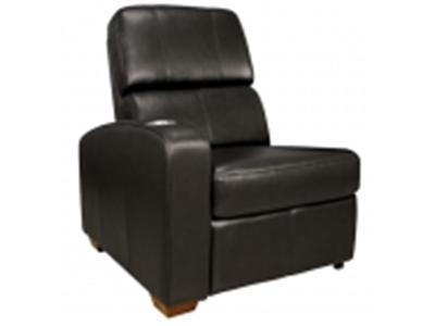 BELL`O HTS101BK Real Leather Left Arm Recliner Chair - black