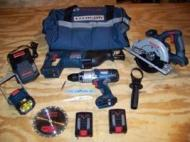 Milwaukee 0919-22 Cordless COMBO Kits for 220 Volts