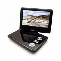 Internationa IN-09DVD 9 inch Swivel Portable Region Free DVD Player 110-220 Volts