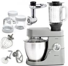 Kenwood KEKMM77009 Major Premier Stand Mixer Plus Glass Blender 220 Volt/ 50 Hz