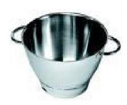 Z-Kenwood KE36385B Attachment, Chef Stainless Steel Bowl with Handles
