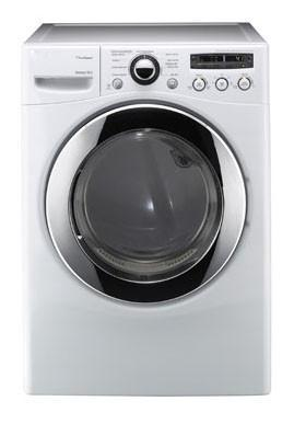 LG DLEX2650W 7.3 cu. ft. Electric SteamDryer, 9 Drying Program, 5 Temperature Settings, White FACTORY REFURBISHED (For USA)