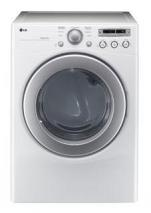 LG DLG2251W 7.1cu. ft. Gas Dryer Sensor Dry System, 7 Drying Program, White REFURBISHED (FOR USA ONLY)
