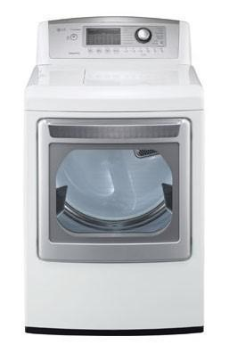 LG DLGX5171W 7.3 cu. ft. Steamdryer (Gas) W/ Steamsanitary Cycle, White FACTORY REFURBISHED (ONLY FOR USA)