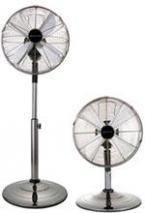 Bionaire BASF1516 Table and Standing Fan CHROME 220-240 Volt/ 50 Hz