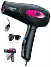 CONAIR 260P Folding Hair Dryer WITH DIFFUSER 110-240 Volt/ 60 Hz