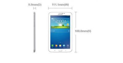 Samsung Galaxy Tab 3 7.0 T211 3G Tablet 8GB White