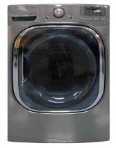 LG DLEX4070V 7.4 cu. ft. Ultra Large Capacity Electric SteamDryer FACTORY REFURBISHED (FOR USA)