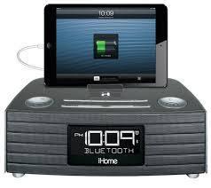 iHome IBT97 Bluetooth Stereo FM Clock Radio w/ USB Charging  110 - 220 Volts