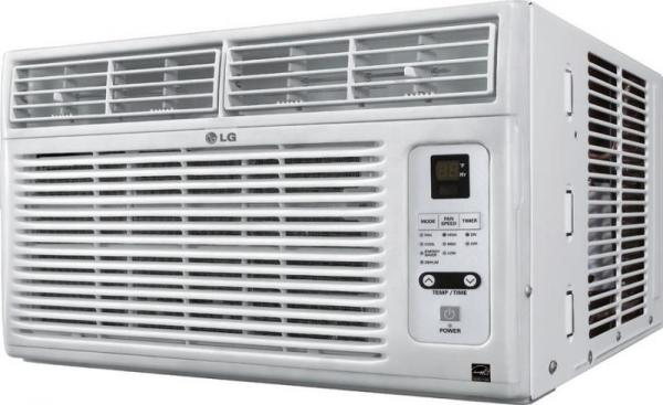 Lg lw8012erj 8 000 btu window air conditioner with remote for 12 inch high window air conditioner