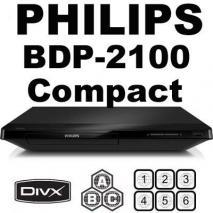 PHILIPS BDP2100 MultiZone All Region Blu Ray DVD Player 100-220 volts (A,B,C)