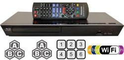 Panasonic 89 Multi Zone All Region DVD Blu ray Player. 100-240V World-Wide Voltage.