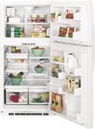 GE PTG25LBWW 220 Volt 25 Cubic Feet Refrigerator Top Mount