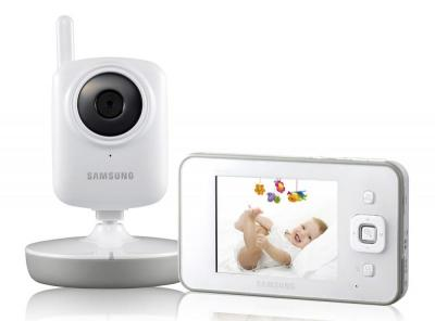 Samsung SEW3035 SecureView Video Baby Monitor 110 - 240 VOTLS