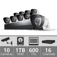 Samsung SDSP5100N 16ch Security Camera System 110 - 240 VOLTS