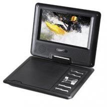 Supersonic SC177DVD 7-Inch regin free Portable DVD Player
