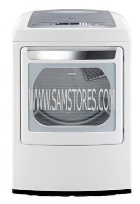 LG DLEY1201W 7.3 cu. ft. Ultra Large Capacity Electric Dryer W/ Front Control FACTORY REFURBISHED (ONLY FOR USA)