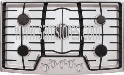 LG LCG3611ST 36 inch Gas Cooktop with 5 Sealed Burner, 17,000 BTU SuperBoil FACTORY REFURBISHED (FOR USA)