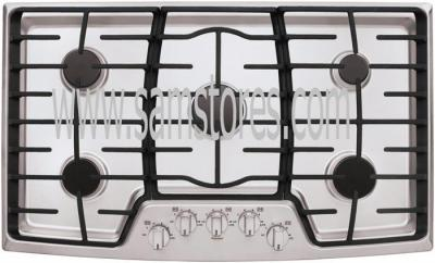 LG LCG3611ST 36 inch Gas Cooktop with 5 Sealed Burner, 17,000 BTU SuperBoil FACTORY REFURBISHED (FOR USA)