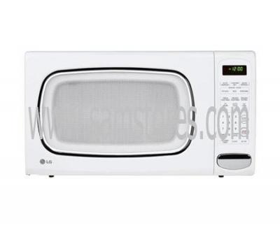 LG LCS1410SW 1.4 cu. Ft. Countertop Microwave, White FACTORY REFURBISHED (FOR USA)