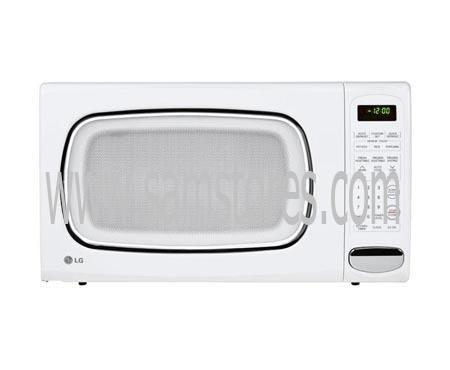 Lg Lcs1410sw 1 4 Cu Ft Countertop Microwave White Factory Refurbished For Usa