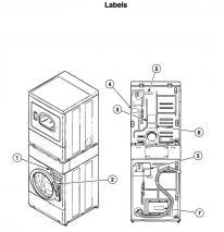 Speed Queen LTSA9AWN3060 Washer/Dryer Combo Model 220 volts