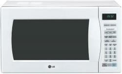 LG LMH1017CVW 1.0 cu. ft. 1350W Convection Countertop Microwave, 5 Sensor Cook Options, White FACTORY REFURBISHED (FOR USA)
